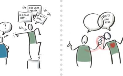 De kracht van 'praten uit ervaring'