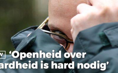 Medewerking artikel 'Openheid over verwardheid is hard nodig'